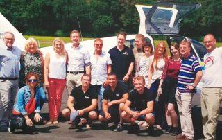 Team Imhof Werbung zum Generationenwechsel